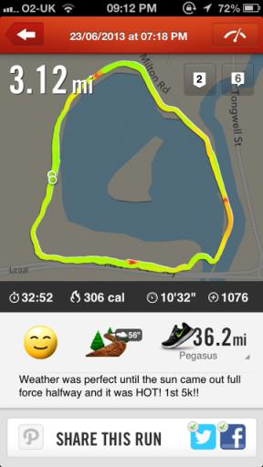 my run!