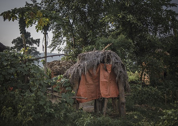 Chhaupadi hut
