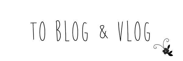 blog&vlog