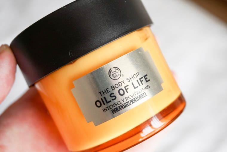 Body Shop Oils Of Life Sleeping Cream