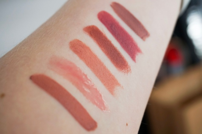 Sephora Nude Set Swatches